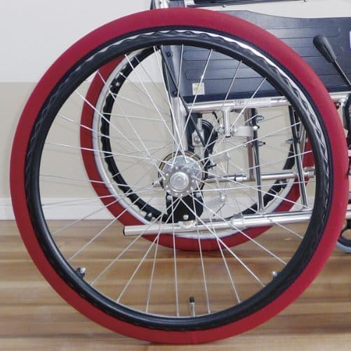 tire cover foil socks for wheelchair
