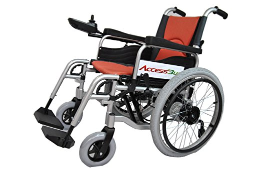 Accessbuy electric power portable wheelchair