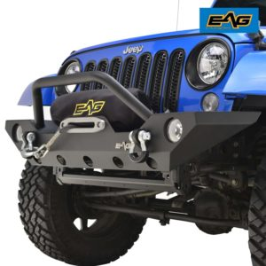 EAG_07_18_Jeep_Wrangler_JK_Rock_Crawler_Off_road_Front_Bumper_with_Winch_Mounting_Plate