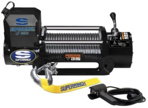 Superwinch 1585202 LP8500 Winch Gen II 12 VDC 8500lbs/3856kg, steel hawse