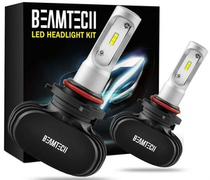 BEAMTECH 9005 LED Headlight Bulb, Extremely Brigh HB3 CSP Chips Conversion Kit