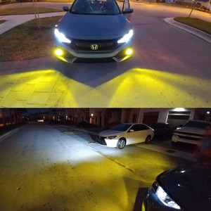 Calais Extremely Bright LED 9005 HB3 COB Chips 30W Yellow Color LED Fog Lights Bulbs