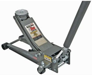 Pittsburgh Automotive 3 Ton Heavy Duty Ultra Low Profile Steel Floor Jack