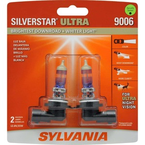 SYLVANIA 9006 SilverStar Ultra High Performance Halogen Headlight Bulb