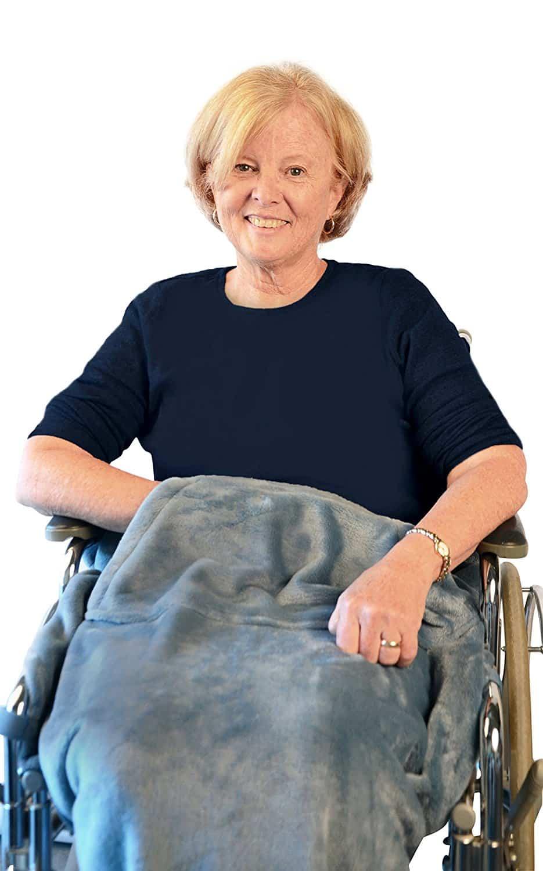 best wheelchair lap blanket