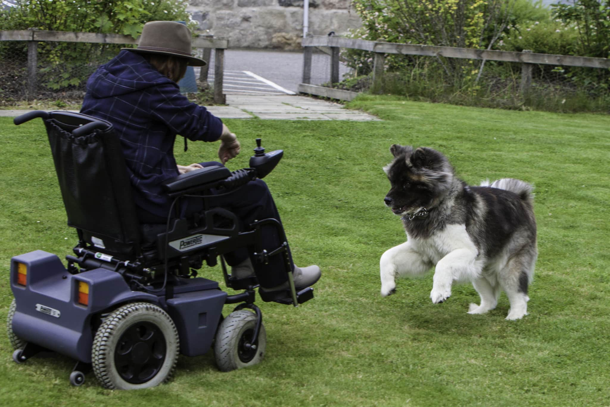 electric wheelchair guide