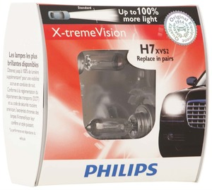 Philips H7 X-tremeVision Upgrade Headlight Bulb